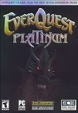 Ever Quest Platinum (PC, 2004) Rated T for Teen. 4 disc set  FREE SHIPPING!!!