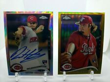 2014 TOPPS CHROME #134 DAVID HOLMBERG ROOKIE REFRACTOR AUTOGRAPH # /499 Lot of 2