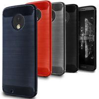 Case + Film Protecteur pour Motorola Moto G6 Plus + Gomma Couverture Cover Étui