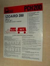 Prospectus Camion UNIC IZOARD  200 CV   Truck LKW Prospekt Brochure