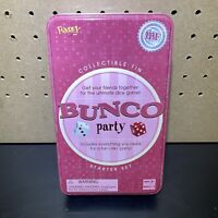BUNCO party game Collectible Tin Starter Set by FUNDEX