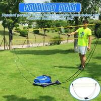 Portable Outdoor Foldable Badminton Tennis Volleyball Net Sport Stand Set R4N2