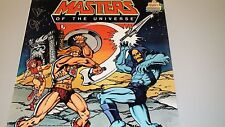 Masters of the Universe Record Album signed by Al Oppenheimer voice of Skeletor!
