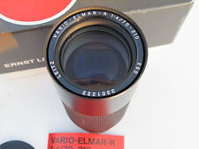 "Leica 70-210mm f:4 Vario-Elmar-R zoom lens with caps/pouch/BOX, #11246 ""LQQK"""
