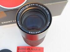 """Leica 70-210mm f:4 Vario-Elmar-R zoom lens with caps/pouch/BOX, #11246 """"LQQK"""""""