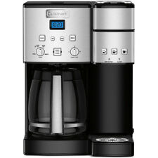 Cuisinart Coffee Maker w/ 12-Cup Carafe & Single-Serve Brewer, Stainless Steel