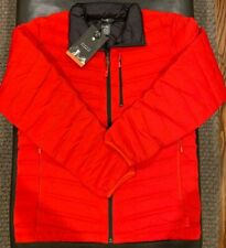 NWTs Mountain Hardwear Men's StretchDown Jacket. Medium. Fiery Red (MSRP $260)