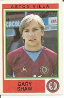 Panini Football 85 No.36 Aston Villa Gary Shaw