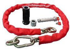 Bulldog MC100S 6FT Thick Chain Lock System Range 5 Yr Manufacture Guarantee