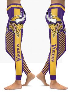 Minnesota Vikings Small Women's Leggings New