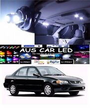 For Toyota Corolla Conquest 2002 White LED Interior Light upgrade Kit (4pce)
