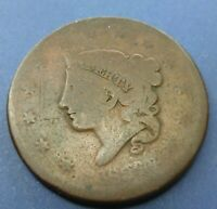 1836 Large Cent   #LC36cull