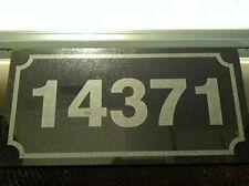 Granite Address Plaque or Custom Lettering Laser Etched