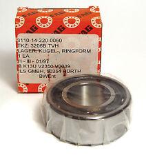 FAG 3206 B.TVH Kugellager 30 x  62 x 23.8 mm, MIL Qualität, NOS
