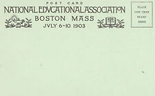 Postcard National Educational Association 1903 Bosto MA