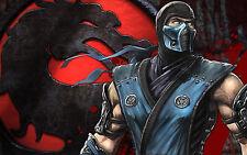 Sub Zero - Mortal Kombat - Wall Poster - 20in x 30in ( Fast shipping  in Tube )