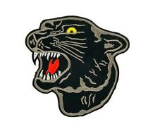 Patch ecusson brodé drapeau backpack panthere noir thermocollant