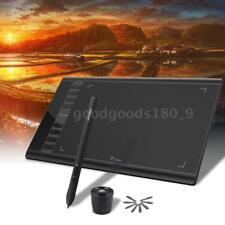 """UGEE M708 10x 6"""" 5080LPI Draw Tavoletta Pro Disegnare Grafica Tablet Pad w/Penna"""