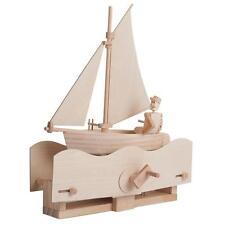 Timberkits Salty Sailor Wooden Self Assembly Construction Model Kit Automata