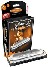 Hohner Special 20 Harmonica, Key of B Flat, Brand New In Box