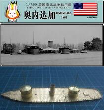 PE kit 1/700 American Civil War ironclad warship USS Onondaga (1864)