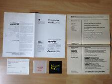 Werberatschlag + Dia * Zwei Schlitzohren in der gelben Hölle * EA 1974