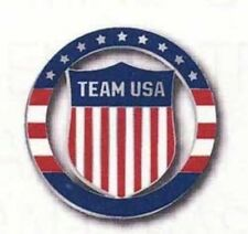 OLYMPICS LONDON 2012 TEAM USA OLYMPIC CREST CUT-OUT COLLECTOR PIN
