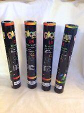 "60 Glow Sticks Bracelets 8"" 5 Colors Premium for Party Holloween Wedding concert"