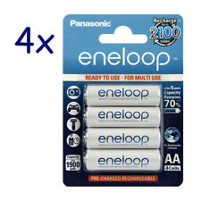 16x Panasonic Eneloop Akku BK-3MCCE Mignon AA 2000 (min. 1900mAh) HR6