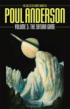 1st,2 signatures(author,intro),Collected Short Works Poul Anderson 3:Saturn Game