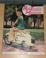 RTM revue technique motocycliste moto n°130 07 1957 peugeot s57b manhurin dolina