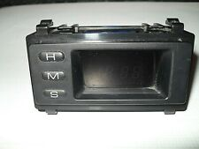 Isuzu Trooper Gen/Mk2 Vauxhall Monterey Digital Clock