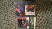 Heart 4 Cassette Lot: Bad Animals, Self Titled, Brigade, Dreamboat Annie