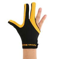 MagiDeal 3-Fingers Right Hand Full-finger Snooker Pool Cue Billiard Glove