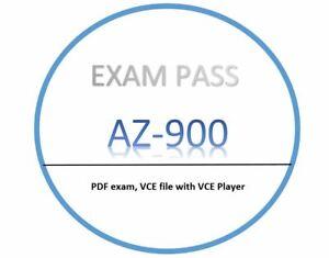 AZ-900 Exam dumps in PDF,VCE - APRIL updated!! 208 Questions!!
