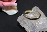 Ring Ehering Gold Goldring 333 Gelbgold  8 k Größe 62 (19,7 mm Ø)