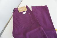 PHARD Damen Jeans stretch Hose 25/32 W25 L32 lila NEU AD33