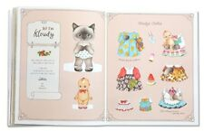 Girl and Cat Paper Doll Play Book