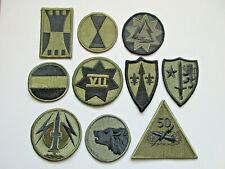 U.S Army Subdued Military Patch Lot #11 (10 Patches)