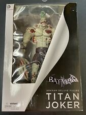 "Batman Arkham Asylum Deluxe Titan Joker 12"" Action Figure DC Collectibles"