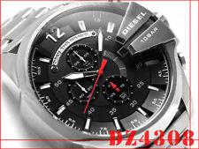 DIESEL MEN'S SILVER IP CHRONOGRAPH MEGA CHIEF WATCH DZ4308