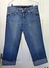 "Tommy Hilfiger Size 10 Women's Capri Jeans 22.5"" Inseam 10"" Rise"