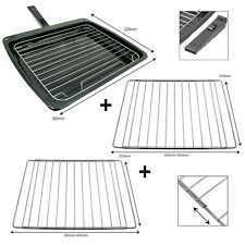 Grill Pan Drip Tray Rack + 2 Extendable Shelf for GORENJE HAIER HOMARK Oven