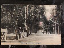 Mint China RPPC Postcard Bubbling Well Road Shanghai