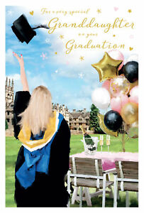 Special Granddaughter on your Graduation Card