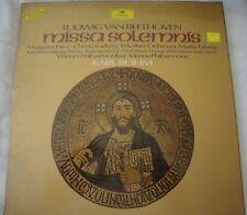 Ludwig Van Beethoven Missa Solemnis Karl Bohm 2x Vinyle LP Coffret 1975 Promo
