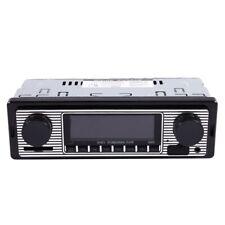 Bluetooth Vintage Car Radio MP3 Player Stereo USB AUX Classic Car Stereo Au H4O4