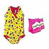 Jump N Splash Girls Yellow Ladybug One-Piece w/Water Wings (5/6)
