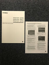 Yamaha | MOTIF | XF6 XF7 XF8 | New Production Synthesizer | Instrucciones | ES