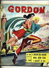 GORDON # MISTERO METEORE-MENTA-GIGANTI REA# N.39 1966 # Edizioni Fratelli Spada